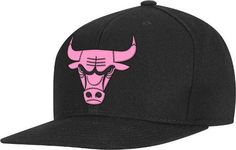 Chicago Bulls Adidas NBA Black Snap Back Hat - Neon Pink Logo  Amazon.co.uk   Sports   Outdoors 7a22addd2d40