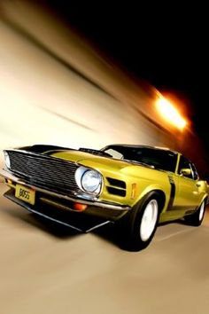 DO YOU LIKE VINTAGE? : Photo 1970 Mustang Boss 302