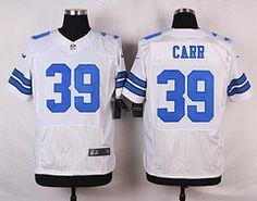 NFL Jerseys Nike - Men's St. Louis Rams #19 Wes Welker White Road NFL Nike Elite ...