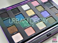Urban Decay Vice 2 Palette (Review, Swatch, FOTD) #urbandecay #vice2