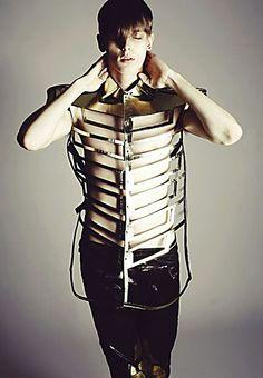 Menswear look by Katie Eary
