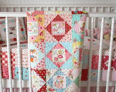 lovely little handmades: vintage nursery quilt