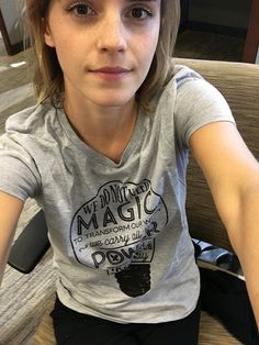 Emma Watson - @EmWatson: Please support @jk_rowling and the #WeAreLumos worldwide campaign. Limited edition shirt available at http://Represent.com/lumos