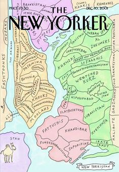 Maira Kalman and the BEST New Yorker cover, ever.