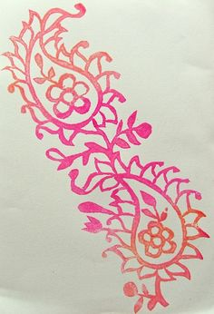 My big fat bag of art journal tricks: DIY craft-foam stamps Foam Crafts, Craft Foam, Arts And Crafts, Diy Crafts, Foam Stamps, Stamp Carving, Art Carved, Textiles, Leaf Art