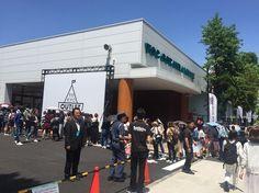 🌞☀️排隊中💦  #tokyooutletweek #japan #outlet #日本代購