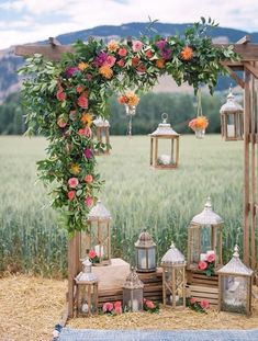 36 romantic wedding ceremony decorations to make you swoon 15 magical tent decor ideas for an outdoor wedding Diy Wedding, Rustic Wedding, Wedding Flowers, Wedding Ideas, Wedding Pergola, Indoor Wedding, Wedding Scene, Perfect Wedding, Wedding Church