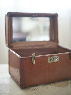 Vintage train cases - my favorite