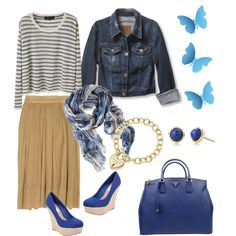 In Blue, created by patricia-teixeira on Polyvore