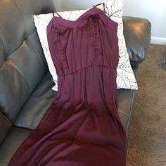 Elegant dress by H&M Gorgeous dress by H&M. A pretty purple/eggplant color. Size 8. I never wore this dress! H&M Dresses Maxi