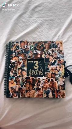 Birthday Gifts For Boyfriend Diy, Creative Gifts For Boyfriend, Cute Boyfriend Gifts, Cute Birthday Gift, Boyfriend Anniversary Gifts, Birthday Diy, Card Birthday, Birthday Greetings, Happy Birthday