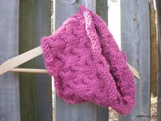 Crazy Cables Cowl Knitting Pattern PDF by EllieFitzsCreations, $1.00
