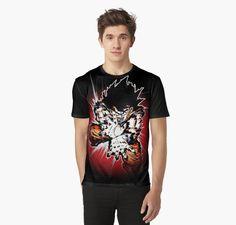 #dragonballz #saiyan #illustration #graphicshirts #shirtsonline #animeshirts #guko #supersaiyan #Apparel #Fashion