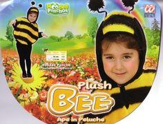 Kis méhecske plüss unisex gyermek jelmez