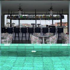 Soho House Berlin terrace