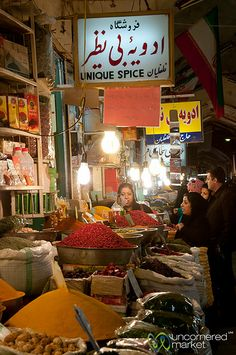 Iranians are keen on spices, in particular advieh, a mixture frequently used in Persian cuisine. Iran: the Bradt Guide www.bradtguides.com
