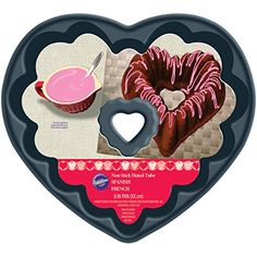 Wilton 8 HeartShaped Fluted Tube Pan *** Be sure to check out this awesome product affiliate link Amazon.com