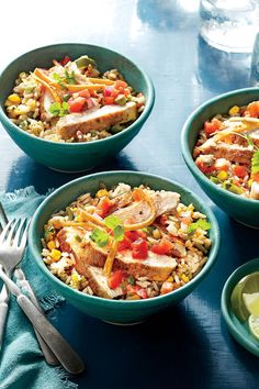 Budget-Friendly Quick-Fix Meals: Southwest Chicken Rice Bowl