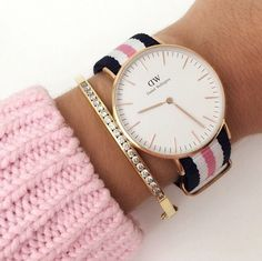 Pretty in pink! #danielwellington