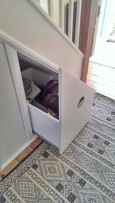 Understair pull out drawer