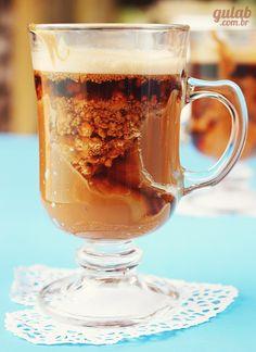 Café com paçoca e doce de leite - Gulab
