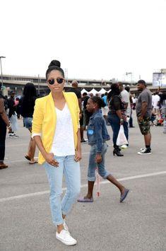 Bmore AAF Fashion African American Festival DMV Black Blogger Fashion  Style Zara OOTD OOTDshare converse Chucks