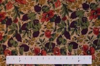 I can see this #LibertyofLondon fabric in a gored tea-length skirt for Fall with purple tights.