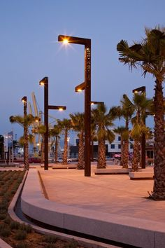 love these custom 200 ADT Architectural Lighting Design, Landscape Lighting Design, Urban Furniture, Street Furniture, Light Architecture, Landscape Architecture, Street Light Design, External Lighting, Lighting Concepts