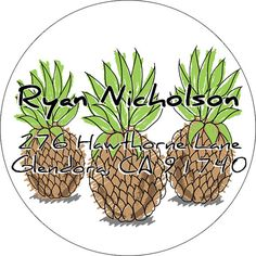 Return address labels return address stickers pineapple by Labelin Return Address Stickers, Return Address Labels, Pineapple, Etsy Seller, Handmade Gifts, Kid Craft Gifts, Pine Apple, Craft Gifts, Diy Gifts