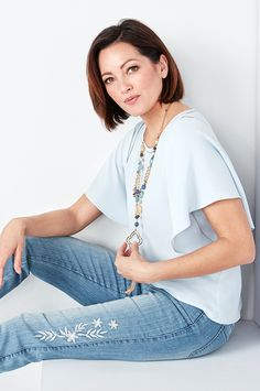 Shop our wide assortment of trendy, versatile blouses & tops made for the petite woman and under, regardless of size. Petite Women, Shopping, Tops, Shell Tops