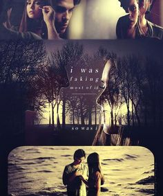 Elena Gilbert and Damon Salvatore -The Vampire Diaries