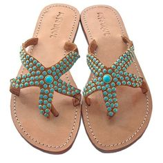 Starfish sandals by ernestine