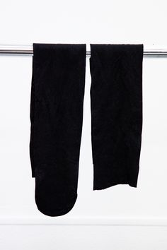 Long Black Stocking Socks with One Cut off #A6251337