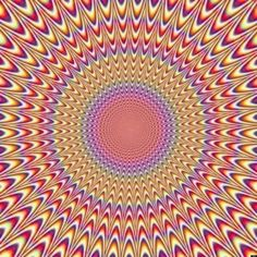 Awesome Illusion! You can see it moving!!!!!!