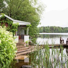 Summer Dream, Summer Time, Sauna Design, Finnish Sauna, Lakeside Cottage, Saunas, Scandinavian Home, Little Houses, Long Weekend