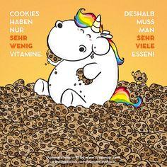 Pummeleinhorn - Cookies vs. Vitamine