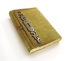 Journal  Victorian Times Leather Cover Notebook by MedievalJourney,