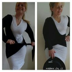 DIY jersey dress 2-in-1
