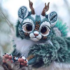 Sketch from Sony Cute Fantasy Creatures, Mythical Creatures Art, Cute Creatures, Magical Creatures, Mystical Animals, Cute Dragons, Anime Kawaii, Dragon Art, Fantasy Art