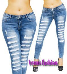 0c8ccbb156 Szuper csinos szaggatott skinny farmernadrág - Venus fashion női ruha  webáruház , ruha webshop, női ruha