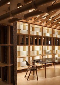 Shigeru Ban, Hermès pavilion, Milan Design Week 2011