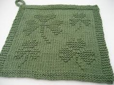 Knit my favorite St. Patrick's Day cloth | Laws Of Knitting