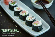 Yellowtail Roll Recipe on Yummly. @yummly #recipe