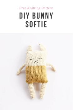 Bunny softie pattern free