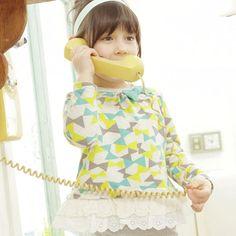 J カラフルリボンT(ミント)- 海外のおしゃれでかわいい子供服通販のセレクトショップ│Peach Baby