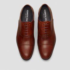 Chief Council Leather Oxford, COGNAC