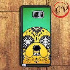 Adventure Time Sugar Skull Samsung Galaxy Note 6 Case