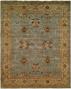 The Bihter traditional area rug emanates an unmistakable energy that will transform any interior. Hand crafted in India from premium wool, it features a rich floral design and a thoughtful palette that make this a natural center piece. http://www.cyrusrugs.com/cyrus-artisan-item-7403&category_id=1569