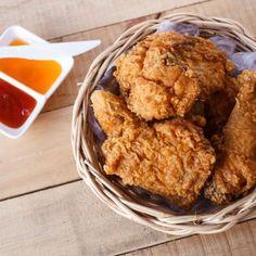 Garlic Finger Lickin' Crispy Fried Chicken