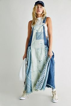 Skylar Skirtall | Free People Haute Hippie, Vintage Inspired, Overalls, Free People, Silhouette, Free Shipping, Skirts, Pattern, Shopping